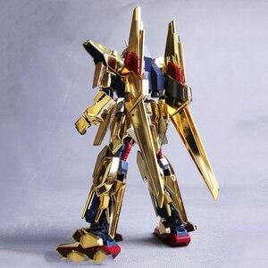 Image 5 - Modello DABAN 1/144 HGUC Placcato Oro Delta DELTA GUNDAM fuori Stampa Rare Spot Deformabile Action Figure Bambini Giocattolo Assemblato regali