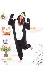 Восемь До Пингвин черный Kigurumi Комбинезоны комбинезон унисекс взрослых  пижамы Костюмы для косплея животных комбинезон для муж. 22189c714bfb4