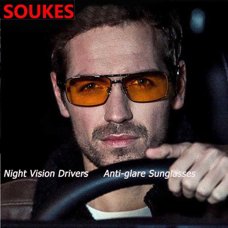 Car Night Driving Prevent Glare Sunglasses Glasses For Audi A3 A4 B8 A6 Q5 C7 8v B5 Mercedes Benz W203 W204 W205 W124 W212 AMG