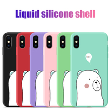 For Xiaomi Mi 9 SE Cases Soft Liquid Silicone Protective Back Cover Case 8 Lite Explorer Phone Shell