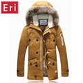 Winter Warm Coat  Men's Down Jackets Casual Duck Down Clothes Zipper Thicken Coats  Snow Brand Overcoat  New Arrival X434