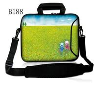Green Girl Neoprene Laptop Shoulder Bag 11 6 13 3 15 6 Sleeve Cover Netbook Handbag