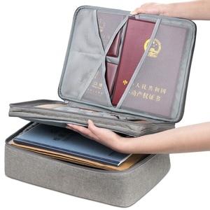 Image 5 - Boona bolsa impermeable para documentos, bolsa de almacenamiento de papeles, bolsa para credenciales, bolsillo para documentos