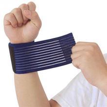 Уличная спортивная эластичная повязка для рук тренажерный спортивный браслет поддержка запястья бандаж обертывание фитнес теннис Polsini Sweatband Munhequeira