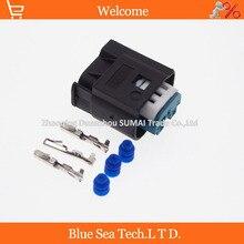 30 компл. TE/AMP 3 Pin/путь авто ограничитель датчик разъем, авто водонепроницаемый электрический разъем для BMW