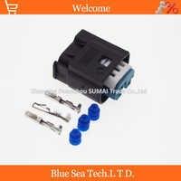 30セットte/amp 3ピン/ウェイオートリクセンサープラグコネクタ、自動防水電気プラグ用bmw