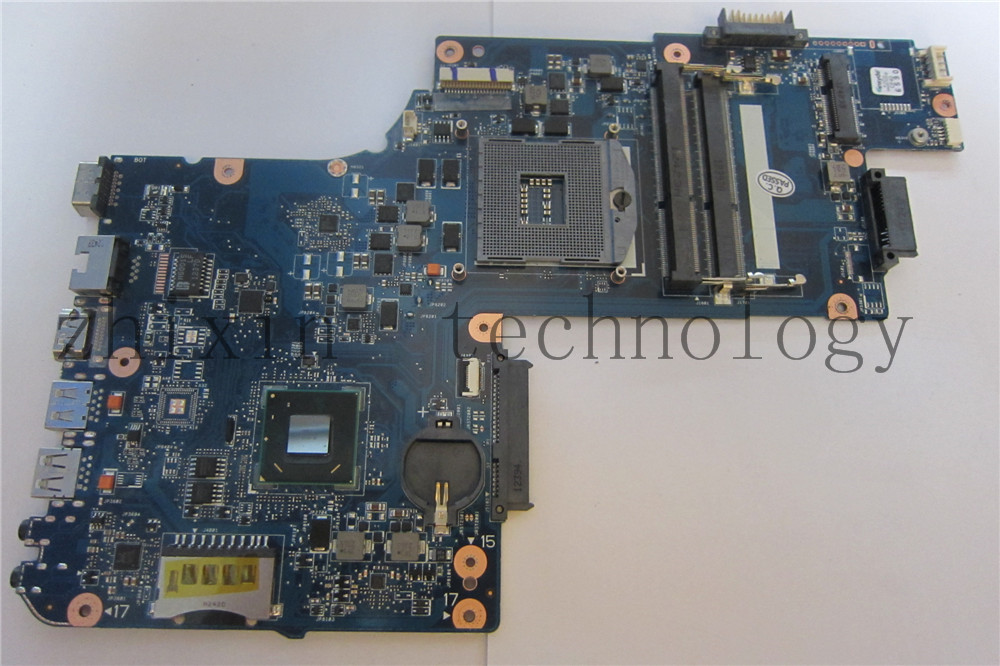 Free shipping for Toshiba Satellite C850 L850 Intel Laptop Motherboard S988 Hm70 H000052740