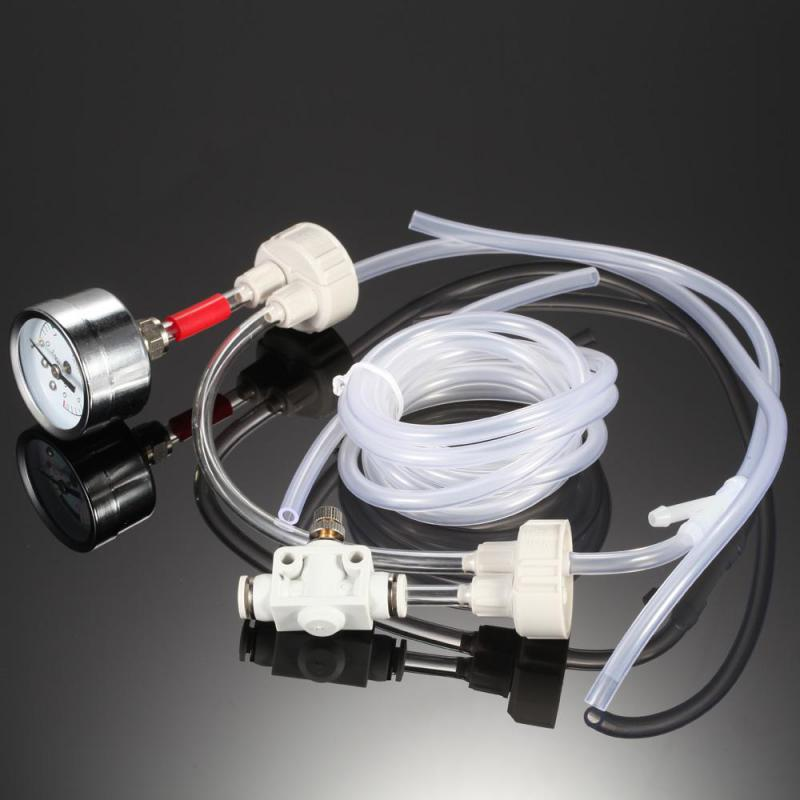 Aquarium Diy CO2 Generator System Kit With Co2 Valve Regulater Table Monitor Or Only 2 Bottle Covers For Fish Tank Water Plant