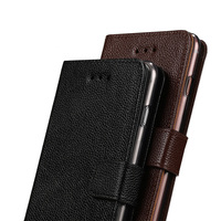 Fashion brand phone for samsung galaxy s6 s7 s9 case handmade custom flip phone case Genuine leather for samsung a8 2018 case