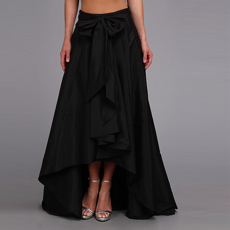 Compare Prices on Long Bow Pleated High Low Skirts- Online ...