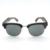 BOBOBIRD G025-1 Semi Caja de Ébano De Madera de La Raya De La Marca de Lujo de Diseño Unisex gafas de Sol gafas de sol masculino Con la Caja