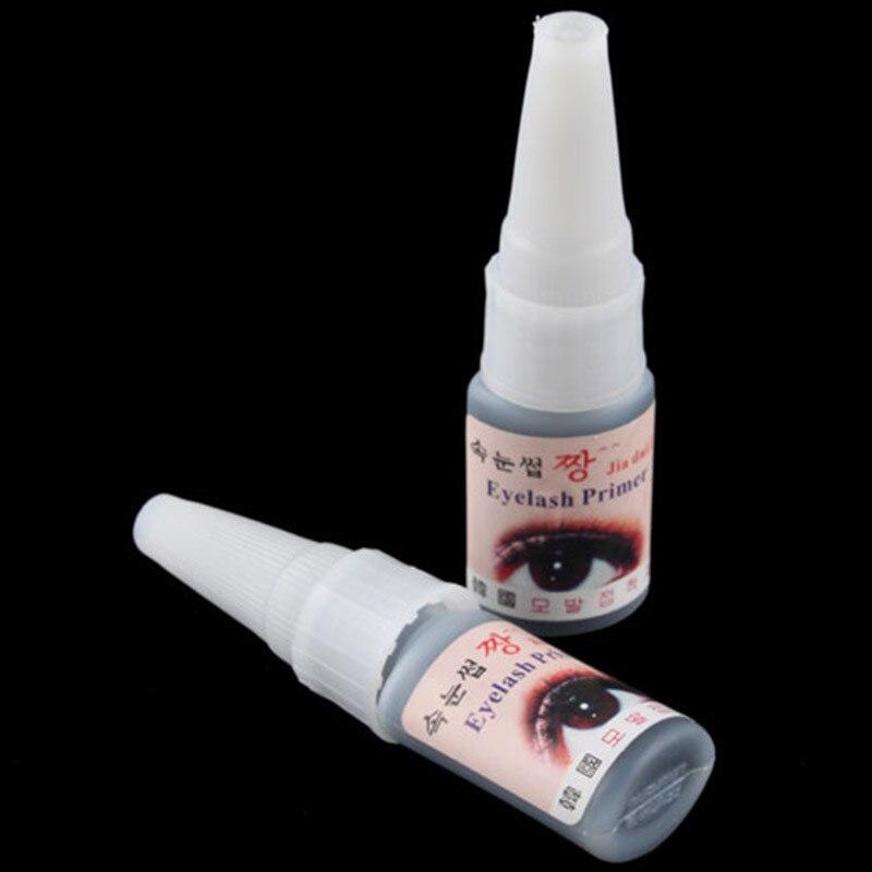 BTT-107 Black False Eyelash Eye Lashes Extension Lim Long Långt Gentle Lim + gratis frakt