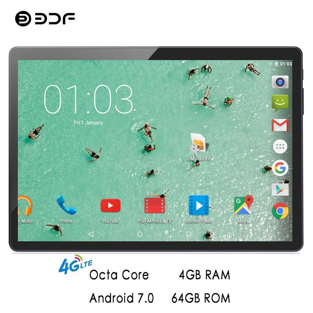 tablette carte sim 4g ヾ(^▽^)ノTablette BDF 2019 10 pouces 4G tablettes d'appel