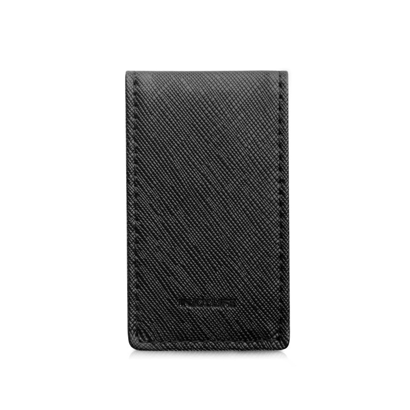 Image 2 - Friendship Gift Brand Genuine Leather Money Clip Purse Men Strong Magnetic High quality Black Clip for Money holderwallet diamondwallet case for iphone 3gsclip on shoe accessories -