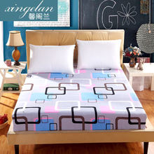fitted bed sheet s elastic bed cover mattress covers cushion cover bed clothes bedspread villa town bed sheet(China)