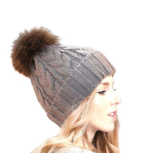 2015 nuevas mujeres del invierno Beanie Color sólido Unisex de punto sombrero de invierno cálido Skullies de lana Touca Gorro gorros mujeres