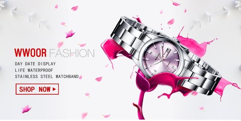 das Senhoras Vestido de Relógios de Luxo