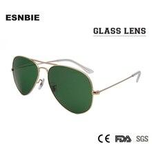 ESNBIE RT 3025 Fashion Non-Scratch Glass Lens Sunglasses Men58 55 Size Colorful Sun Glasses For Women Gafas De Sol UV400