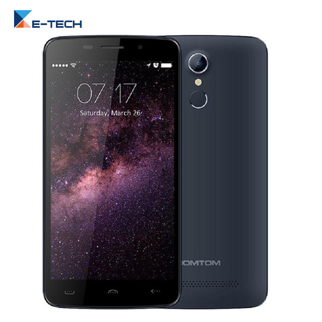 HOMTOM HT17 MTK6737 Quad Core 4G LTE Cell phone Android 6.0 Smartphone 5.5 inch 1GB RAM 8GB ROM 13.0MP fingerprint Mobile Phone