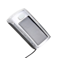 750mAh USB Rechargeable 4 LED Solar Bike Head Light Front Torch Lamp Outdoor Bicycle Equipment Waterproof