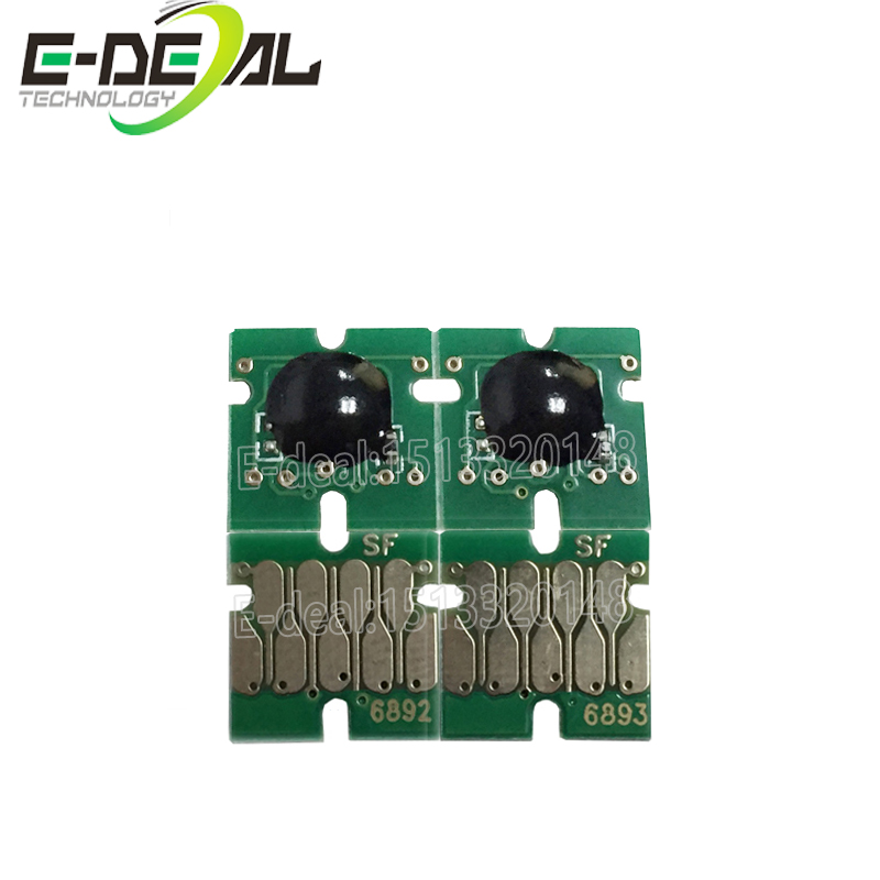 E-deal T6891 T6894 Chip set Upgrade One time cartridge chip for <font><b>Epson</b></font> surecolor <font><b>S30670</b></font> for Cartridge model 4pc/set image