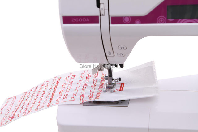 Online Shop 40 Update Household MultiFunction Sewing MachineWith Best How To Embroider Letters With Sewing Machine