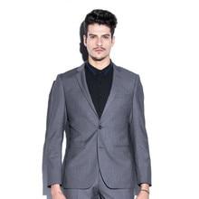Grey men suits jacket tailor made men's wedding tuxedos jacket latest design stylish formal business suits jacket