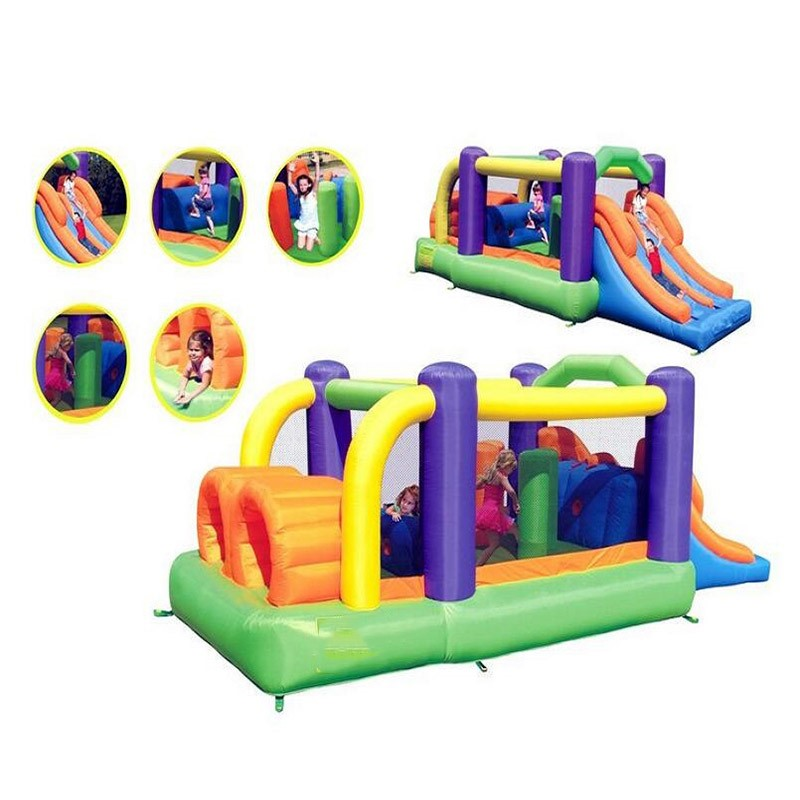 PVC Inflatable Castle Bounce House Obstacle Course Jumping Bouncer