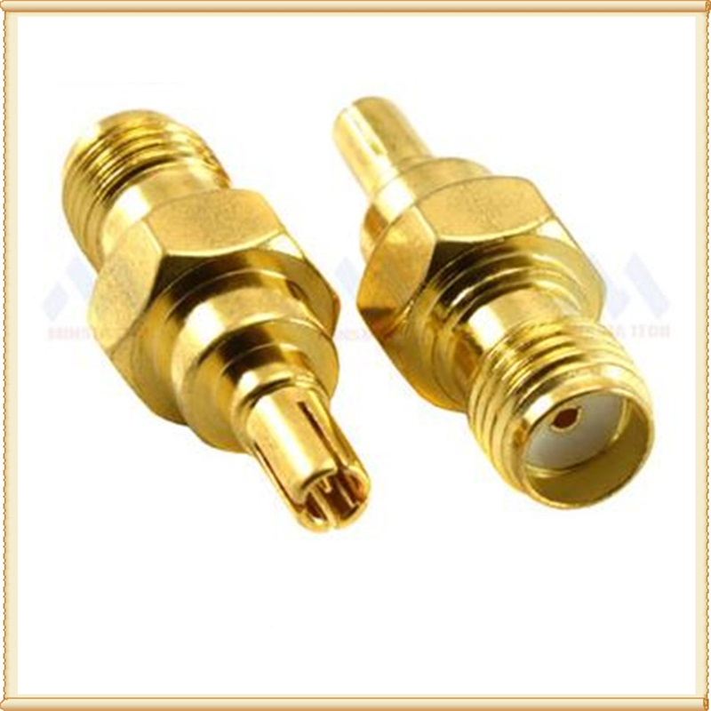 2pcs RF Adapter SMA Female To CRC9 Male RF Adapter Connector For 3G /4G USB Modem And Router  Antenna