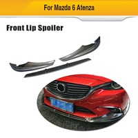 For Mazda 6 GT GX GS GS L Touring Sedan 4 Door 2017 2018 Carbon Fiber Front Bumper Lip