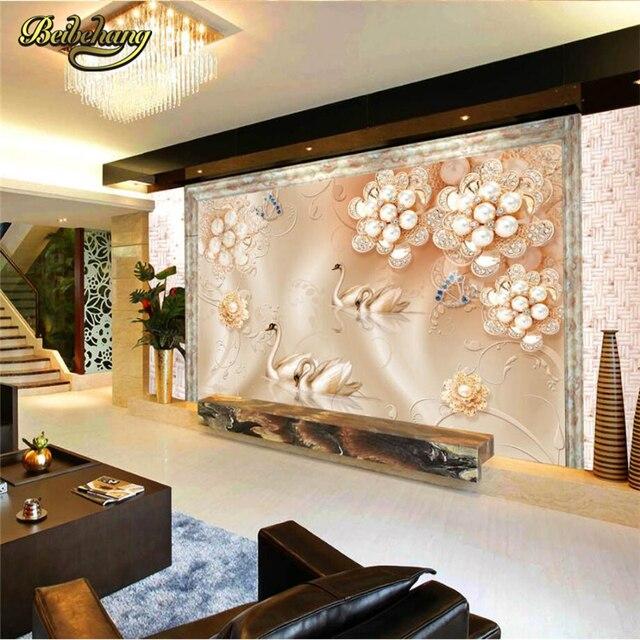 Beibehang Custom Photo Wallpaper European 3D Mural Living Room Backdrop Wall  Panel Classic Interior Decor Wall