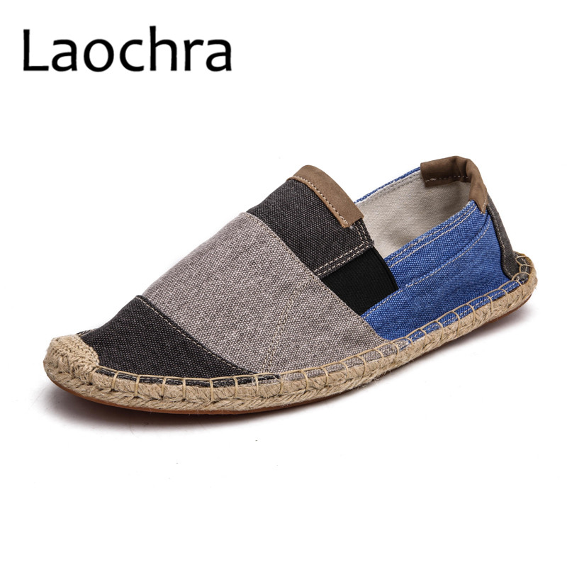 LAOCHRA Men Design Fishman Shoes Paris Famous Retro Style Espadrilles - Men's Shoes - Photo 2