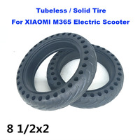 XIAOMI M365 Scooter Tubeless Tyre 8 1/2x2 Wheel Tire Shock Absorption Solid Tyre Inflation Free for Xiaomi Electric Scooter M365