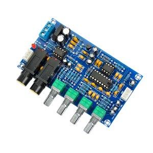 Image 2 - AIYIMA PT2399 amplificateur de Microphone numérique carte karaoké réverbération carte karaoké OK amplificateur Module double AC12V