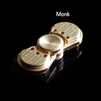 2017 New Hot Spinning Top Toys Hand Spinner High Quality Metal Fidget Spinner Adult Relax Antistress Toy Brass Monk