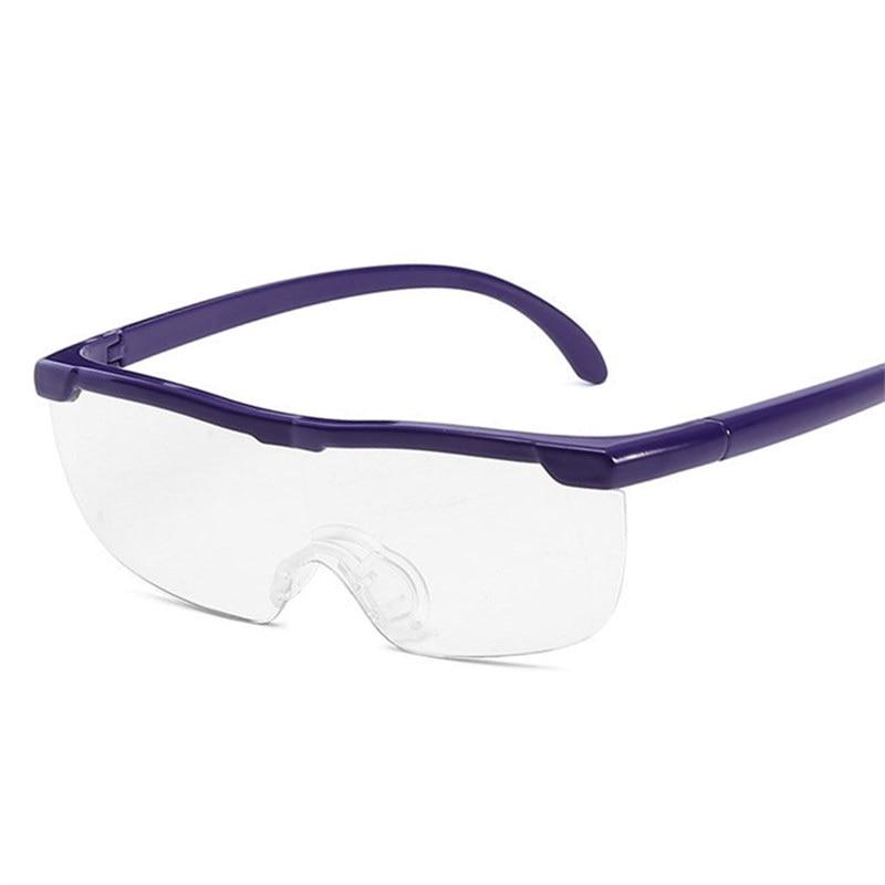 KUJUNY Magnifying Reading Glasses Clearer Eyewear Big Vision 160% Magnifier Reader Glasses Hyperopia Prescription Eyeglasses