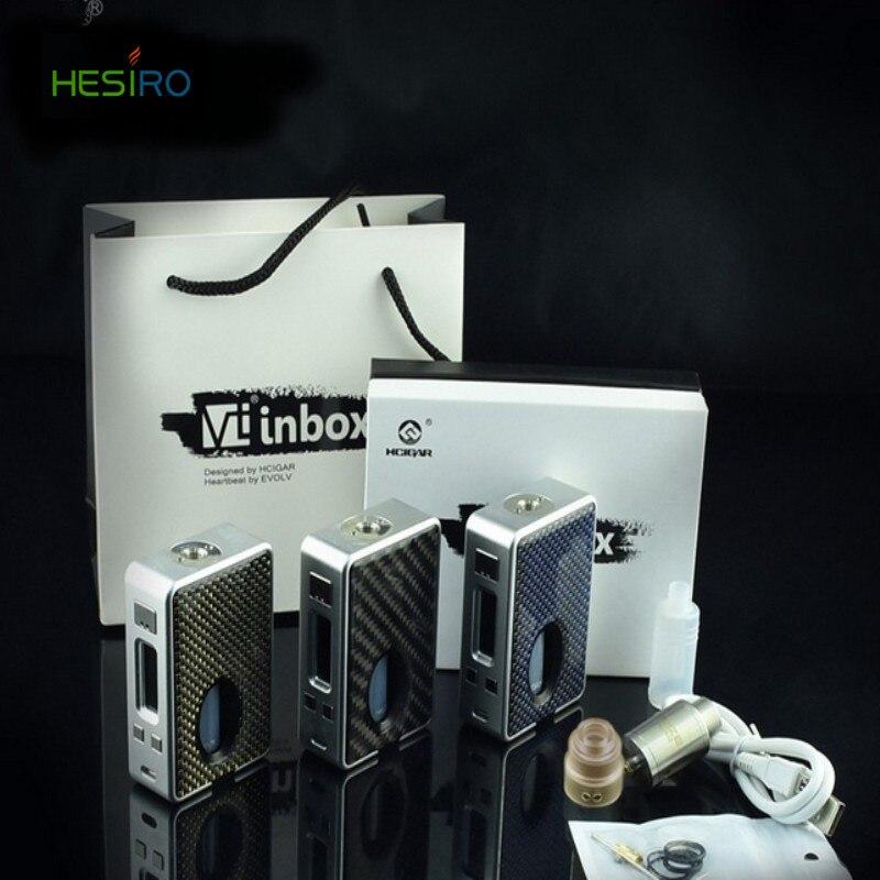Original Hcigar VT inbox Box Mod Evolv DNA75 chip single 18650 battery Vt inbox In Stock VS E Cigarette vt75 nano Free Shipping