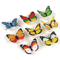 Flashing Lamps Artificial Wall Nightlights For Wedding baby Room Colorful Butterfly ABS LED Night Light Home Decoration #KF