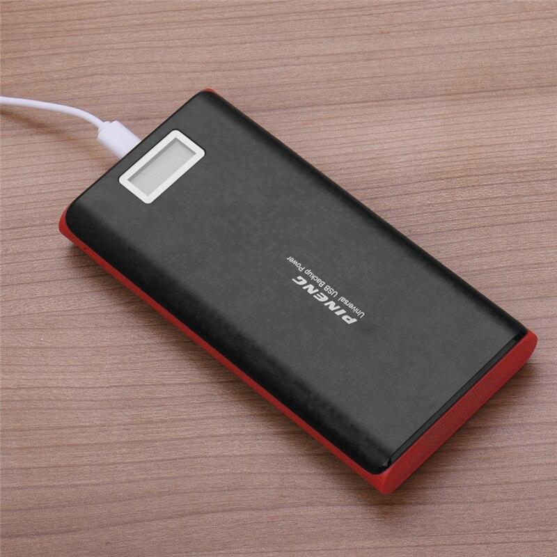 bilder für 2 USB Port Power Bewegliche Bewegliche Aufladeeinheit Externe Batterie-Backup power für iphone 5 s 6 6 s plus 20000 mah mobilen bank Power