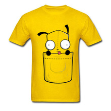 Pocket Doodle Pokemon Pikachu Cartoon T-Shirt Cute Anime Funny Tshirt April FOOL DAY Mimikyu Comic Yellow Tops & Tees Boy