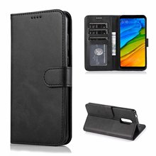 For Xiaomi Redmi 5 Case Cover High Quality Flip Leather Cases For Xiaomi Redmi 5 Stand Case PU Leather Cover For Xiaomi Redmi 5 asling drop proof protective cover case for xiaomi redmi 5
