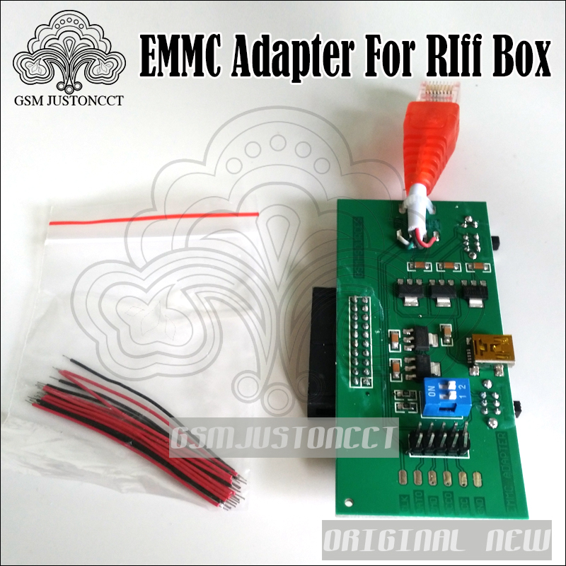 2017 New Perform Emmc Work Without Modifying Your Box Emmc Adapter For Riff Box Jtag Software Repair Tools Back To Search Resultscellphones & Telecommunications