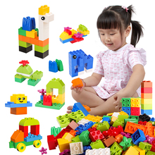 Big Bricks DIY City Building Blocks Creative Bricks Car Model Animal Educational Learning Toys Compatible With LegoED DuploED 922pcs mine mountain building blocks my world figures bricks educational toys for kids compatible with legoed minecrafted city