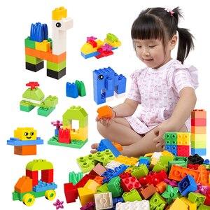 Image 3 - גדול לבנים DIY אבני בניין עיר Creative לבני רכב דגם בעלי החיים חינוכיים למידה צעצועים