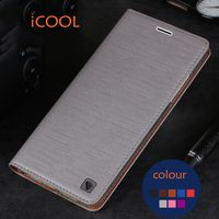 For Xiaomi Redmi 4X Original ICOOL Brand Phone Case Flip Leather Cover TPU Soft Case For