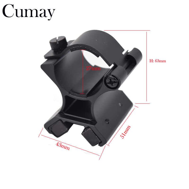 Diameter 27-30mm X Dual Magnetic For Gun Mount Holder Tactical Hunting Flashlight Bracket original xiaomi mijia sign pen mi pen 9 5mm signing pen premec smooth switzerland refill mikuni japan ink black refill