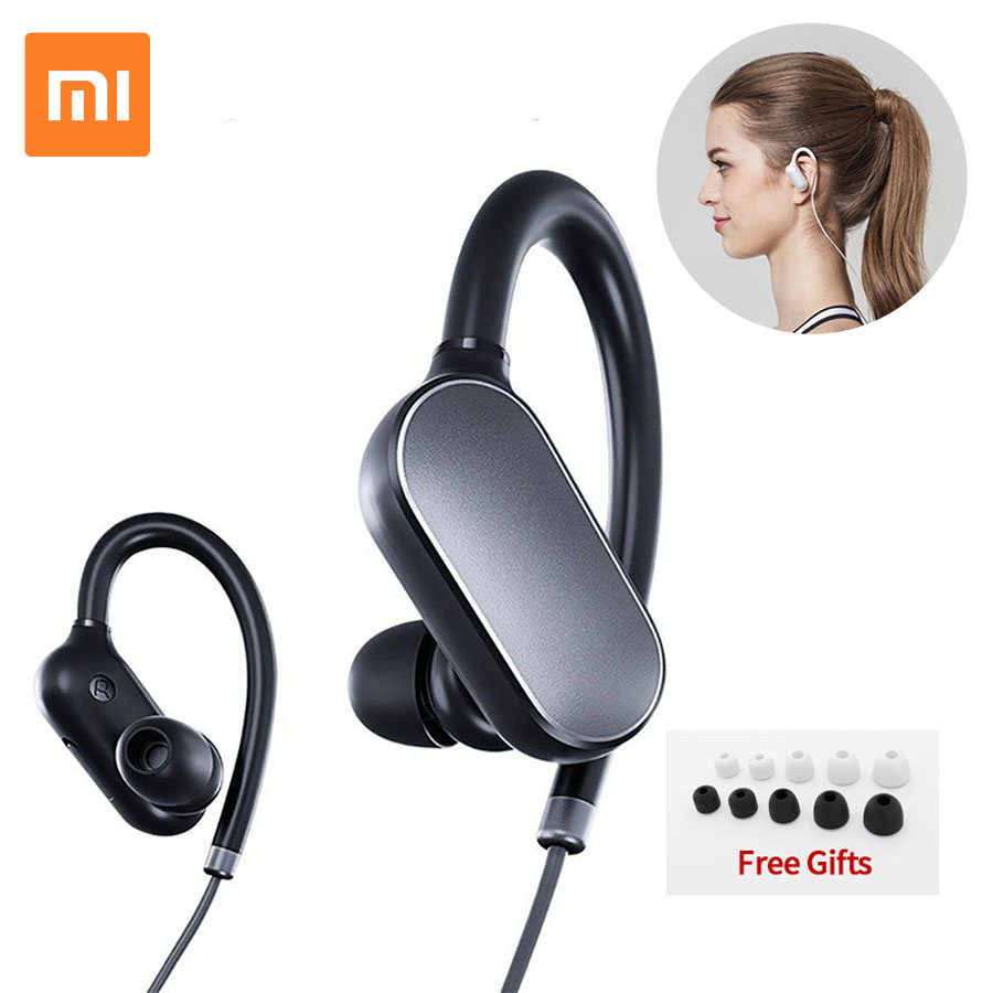 Original Xiaomi Bluetooth Earphone Wireless Sports Headphones Waterproof Sweatproof With Mic Noise Cancelling Xiaomi Earphone