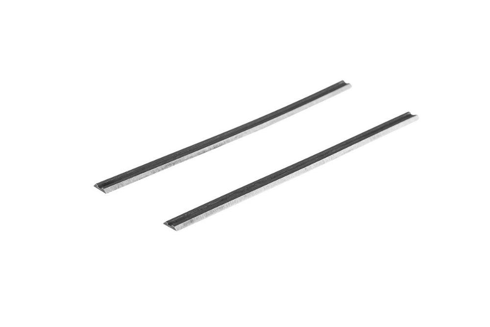 2Pcs 102x5.5x1.1mm Planer Knife Blades For Interskol P-102/ 1100EM, AEG, Dewalt, Metabo, Trend, HAMMER, Bosch, Draper,Stayer