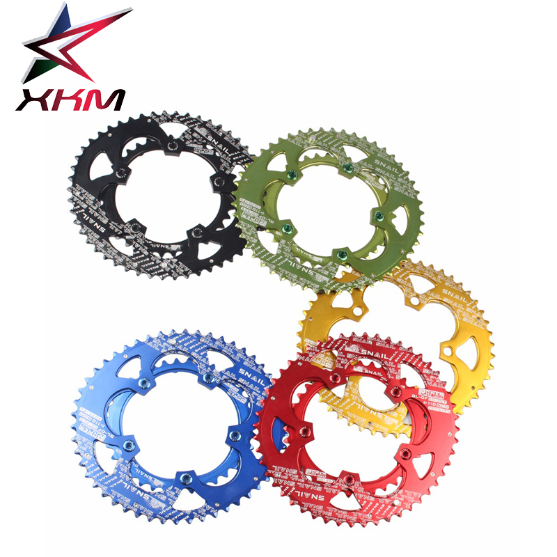 SNAIL  Road Bike Chainwheel Kit 7075-T6 110BCD 50/35T Dual Oval Chainring Chainwheel Set Race Road Bicycle Crank Bike parts west biking bike chain wheel 39 53t bicycle crank 170 175mm fit speed 9 mtb road bike cycling bicycle crank