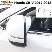 For Honda CRV CR V 2017 2018 Car body stick rear Rearview glass Mirror Rain Eyebrow